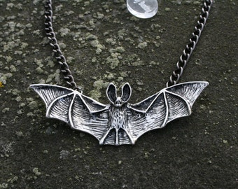 Big bat necklace