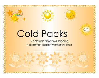 Cold Packs for cold shipping