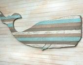 Pallet Whale Wooden Nautical Art Beach House Decor