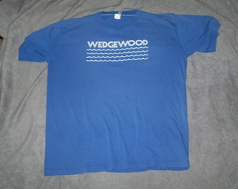 Wedgewood authentic vintage t shirt velva sheen large