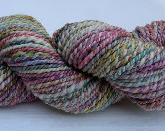 Superwash Merino/Bamboo Handspun Yarn - 100 yards