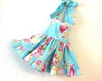 girls size 5 floral dress