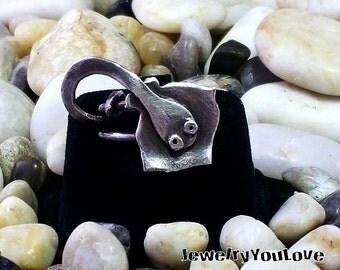Sterling Silver Stingray Ring  - Sally