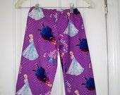 Frozen pants Elsa Pants Ana Pajama
