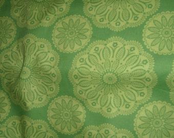 Tonal green Kaleidoscope 1 yard