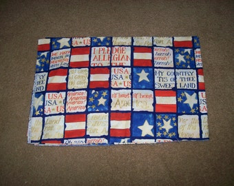 American Anthem  Patriotic Fabric by Springs Industries