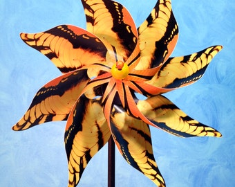 Tiger Swallowtail Butterfly Pinwheel Spinner Whirligig Windmill