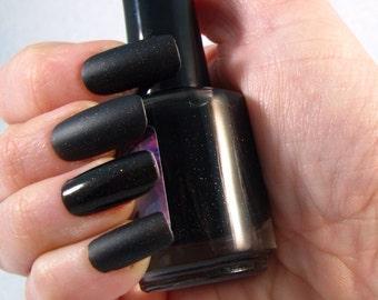 Terek Noir matte nail polish by Comet Vomit