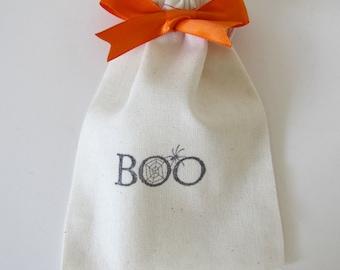 Boo Halloween Treat bags, Halloween loot or favor bags, halloween candy bags
