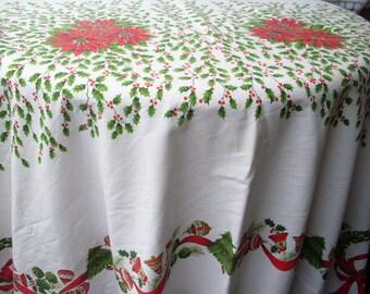 Cotton Christmas Table Cloth