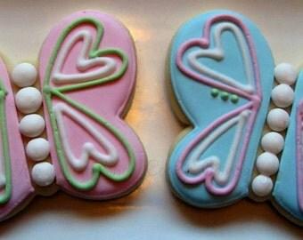 Butterfly Cookies 2 dozen
