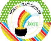 POT OF GOLD favor tags - You Print