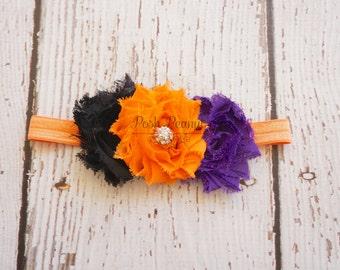 Halloween Headband - Halloween Baby Bow - Halloween Bow- Halloween bow- halloween Baby - Halloween- Bow Hair clip
