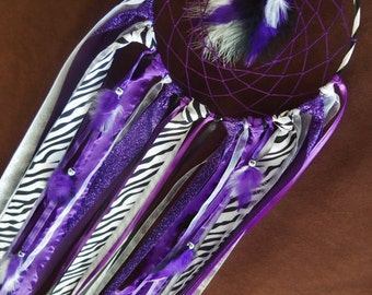 Dream Catcher-The Call of the Wild- 6 inch Ribbon Dream Catcher- pick your colors- Made to Order
