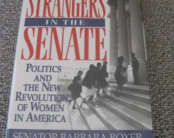 Senator Barbara Boxer Signed Book by Politician