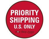 USPS Priority Shipping Upgrade - HopSkipJumpPaper