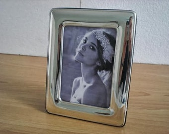 Wedding Gift Handmade Sterling Silver Photo Picture Frame 1017 9x13 GB new