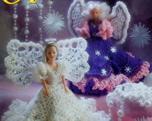 Annie's Attic FASHION DOLL ANGELS  - Crochet Doll Dress Pattern