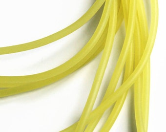 Rubber cord 3mm yellow Rubber cord 1m S 40 081