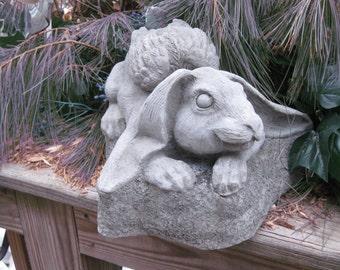 Rabbit Angel Statue