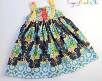 SALE 5/6  Lilly Bouquet Knot Dress