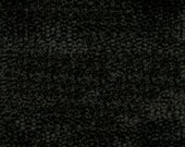 Plain Weave Super Soft Durable Chenille for Upholstery - Contemporary to Traditional Solid Upholstery Fabric - Color- Dark Ash - per yard