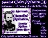 Meditation CD ST. GERMAIN Ascended Master Chanelled Guided Chakra Aura Breath Color Healing Instruction Angel Alchemy Transform Violet Ray