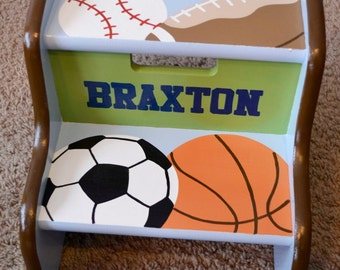 Sports Step Stool, Children's Step Stool