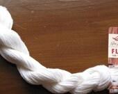 Fibranatura Flax Yarn Color #14 White Lot # 9126
