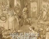 Lady Flemming's Gingerbread - 4oz  Atmosphere Room Spray: Black Phoenix Trading Post