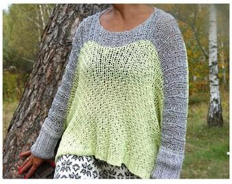 SALE! Color Block Sweater