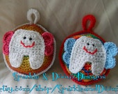 Crocheted Tooth Fairy Pillow, Made To Order, Moogly