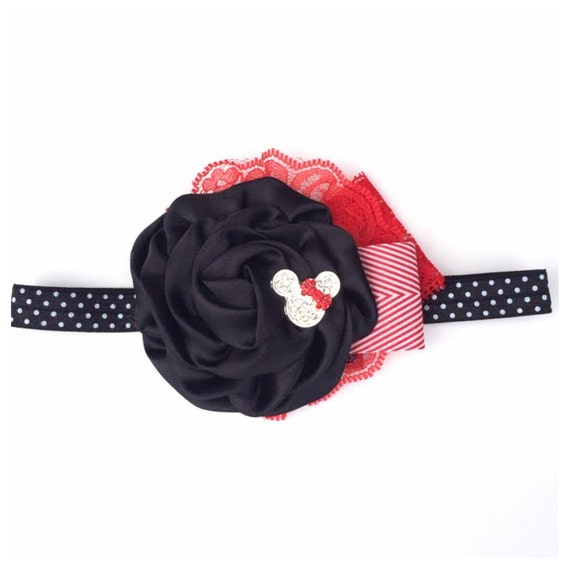 Disney Collection - Red Minnie Mouse Can Can - Disneyland Disney, mickey mouse, Princess Spring, Summer, Newborn, Photo prop