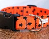 Super Star Halloween Dog Collar