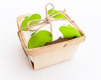 Green Apple Flour Sack Dish Towel