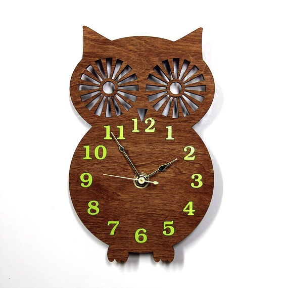 Wall Clock Owl Design : Unavailable listing on etsy