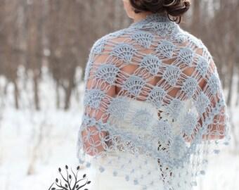 Crochet Shawl,Bridal Shrug,Bridal Bolero,Winter Wedding,Bridal accessories,Bridal Shawl,Crochet Shrug Shawl,Bridal Wrap,Grey Wrap
