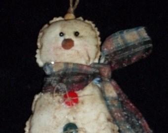 Prim - Snowman Ornament