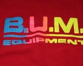Vintage B.U.M. Equipment Crew Neck Sweatshirt
