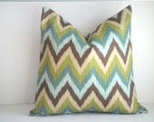 CLEARANCE - FREE US Shipping 18x18 Decorative Pillow Cover Indoor / Outdoors