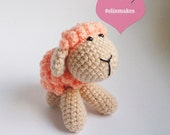 Amigurumi Pattern: Sandy the Woolly Sheep