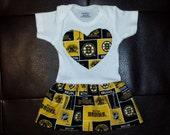 Boston Bruins Onesie Dress