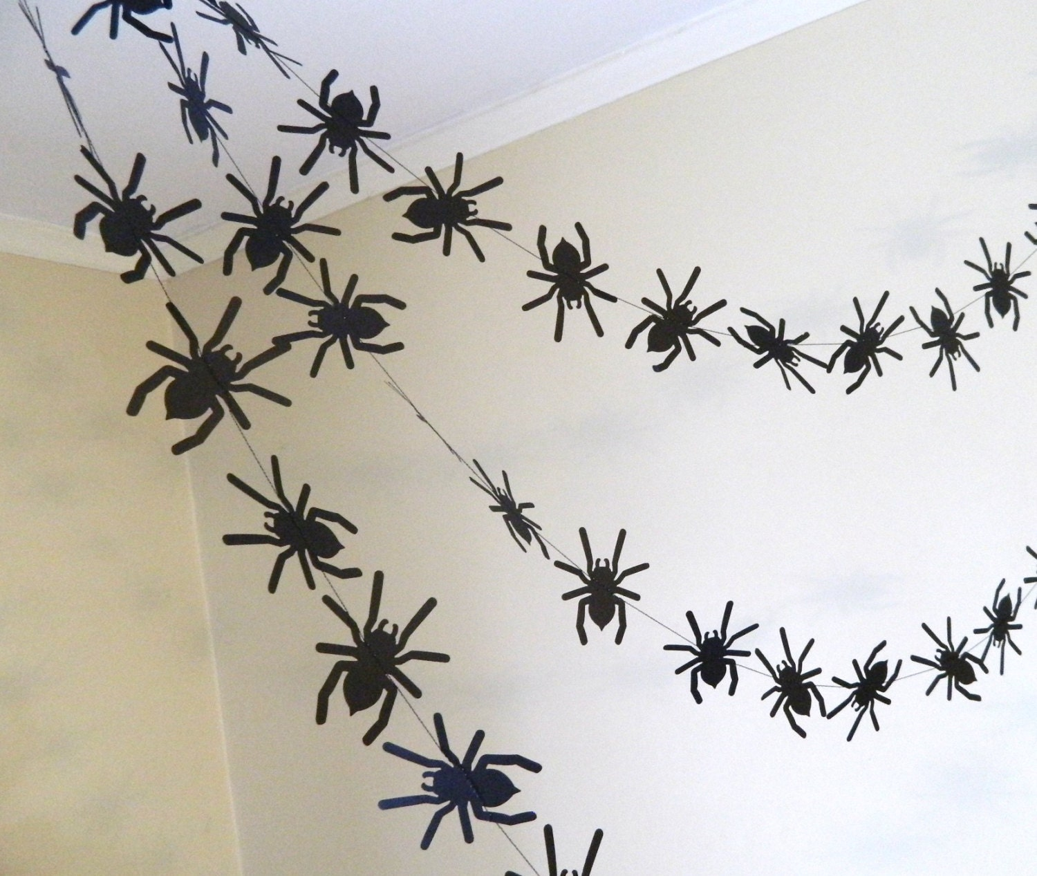 Halloween Spider Decor/ Paper Garland / by anyoccasionbanners