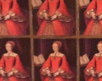 Queen Elizabeth I Wrapping Paper/Giftwrap