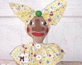 Folk Art Raggedy Mammy Doll Bust Shelf Sitter Decor SCOFG Summer Celebration  PrimsGoneWild
