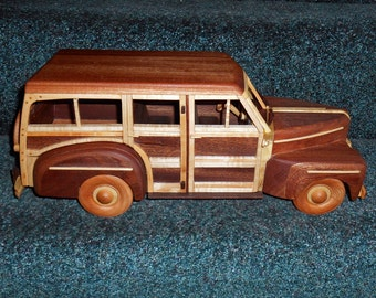 Deluxe 1948 Woodie Wagon handcrafted