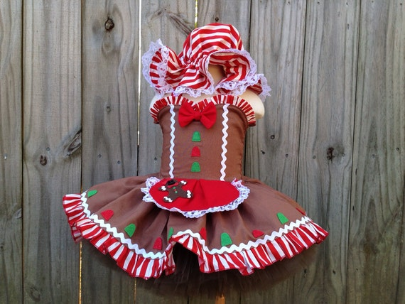 Items Similar To Custom Gingerbread Girl Pageant Tutu