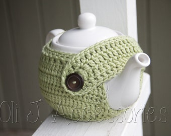 Teapot Cozy w/ Button Flap Closure - Made to Order
