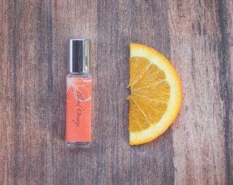 Blood Orange Perfume Oil - Citrus / Orange / Energizing - 8mL