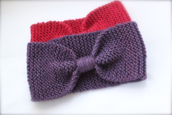 Knitting Pattern Headband Ear Warmer : Unavailable Listing on Etsy